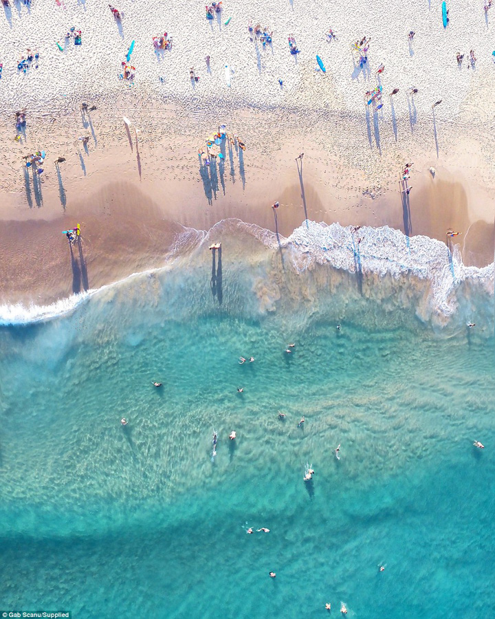 Photo : Gabriel Scanu / Drones photos of Australia coastline