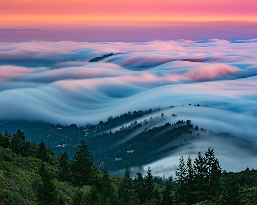 Photo : Nick Steinberg / Fog Waves in San Francisco