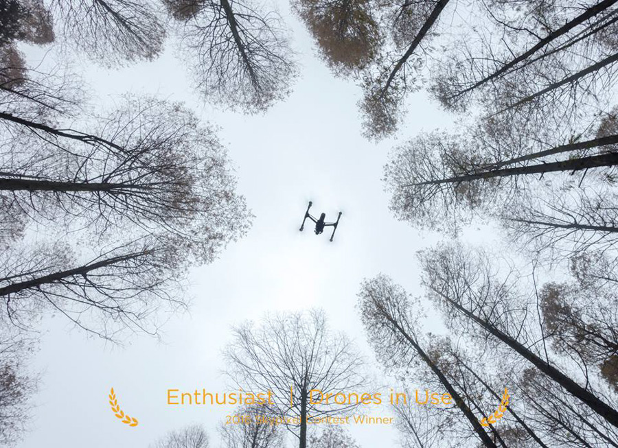 "SkyPixel Photo Contest 2016 Catégorie Enthusiast Drones in Use 2ème Prix / lili cui "" Inspire in Use"""