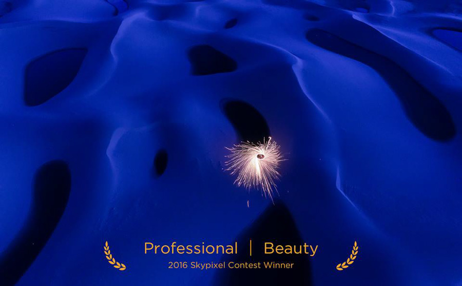 "SkyPixel Photo Contest 2016 Catégorie Professional Beauty 3ème prix / Heng Li ""The Earth"""
