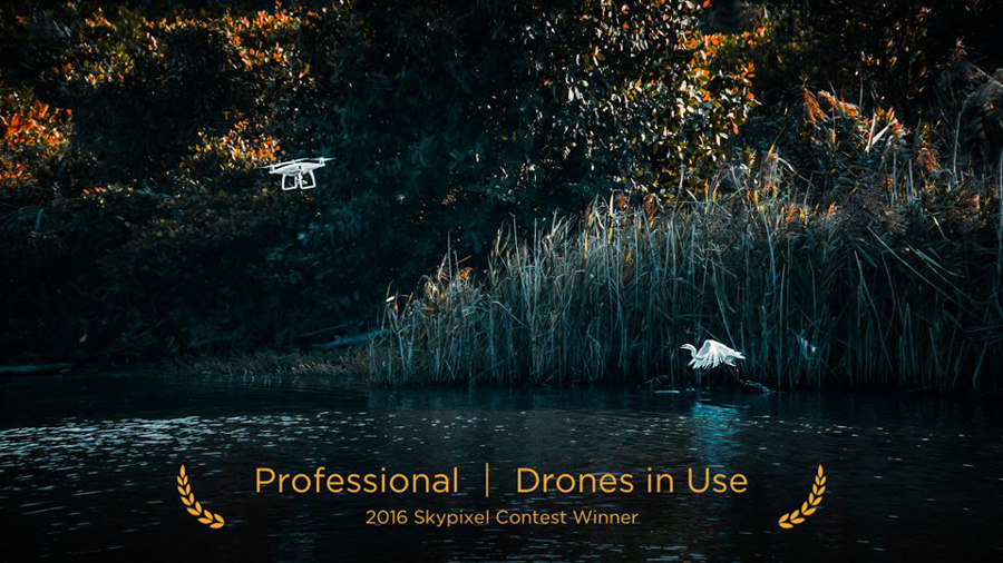 "SkyPixel Photo Contest 2016 Catégorie Professional Drones in Use 2ème prix / HackerSundy ""Meet the Phantom"""