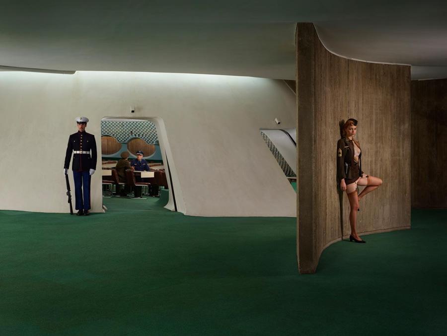 Photo : Sacha Goldberger / Secret Eden / Guerre froide american Red line