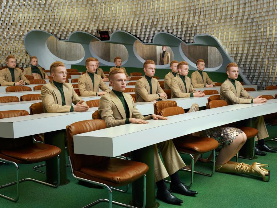 Photo : Sacha Goldberger / Secret Eden / Retro futur Garçon Eve 3882