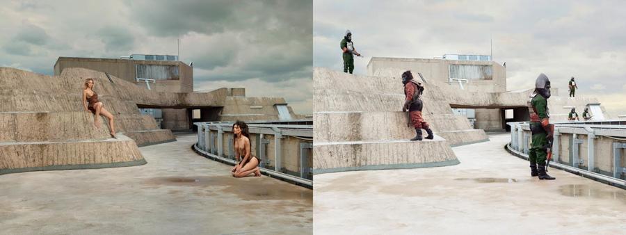 Photo : Sacha Goldberger / Secret Eden / APE's patrol