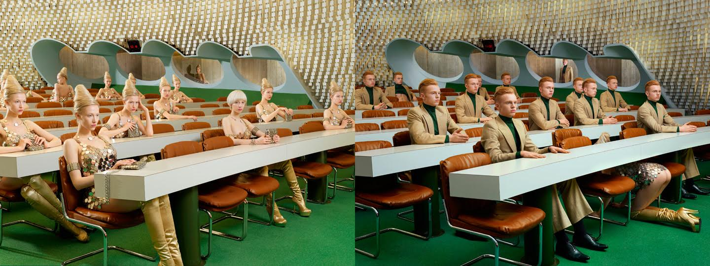 Photo : Sacha Goldberger / Secret Eden / Retro futur Eve 3882