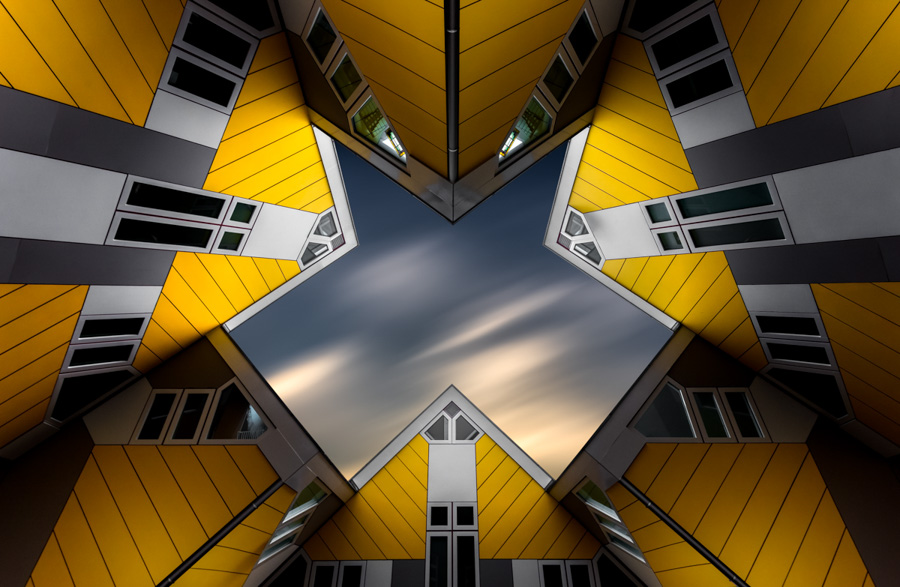 Photo : Tobias Gawrisch / Architecture in the Netherlands - Maisons à Rotterdam