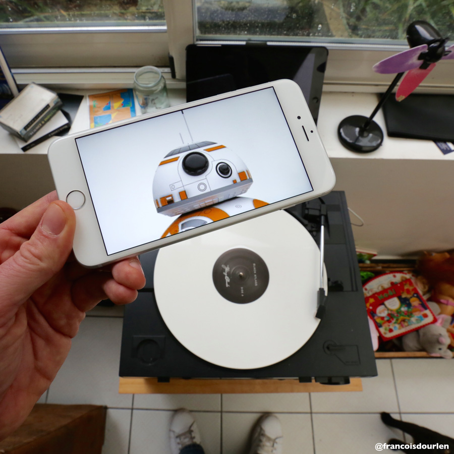 Photo : François Dourlen / Les photos de françois / Vinyle / Star wars BB8