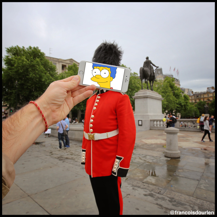 Photo : François Dourlen / Les photos de François / Marge Simpson / Garde anglais welsh guard