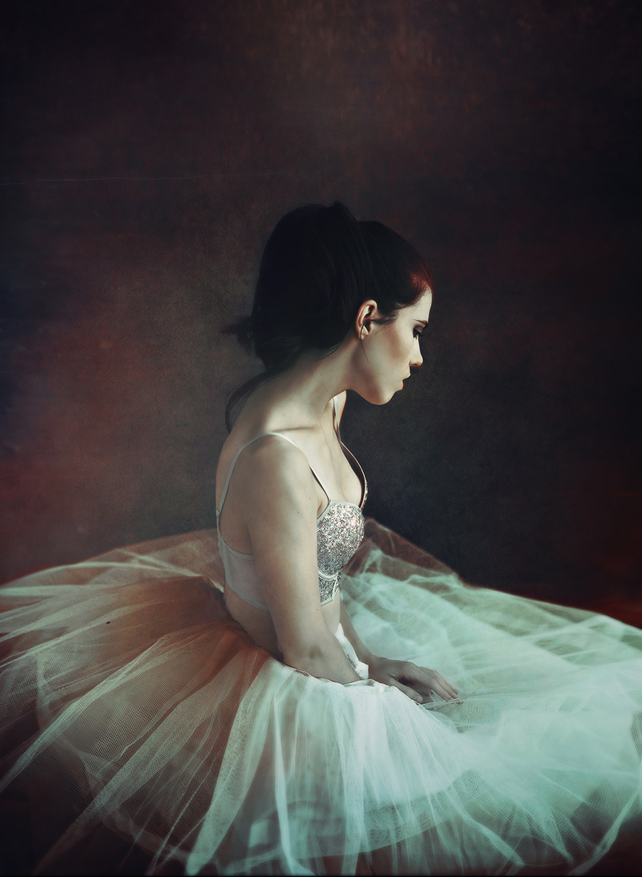 Photo : Anaïs Popy / Ballerine (Autoportrait)