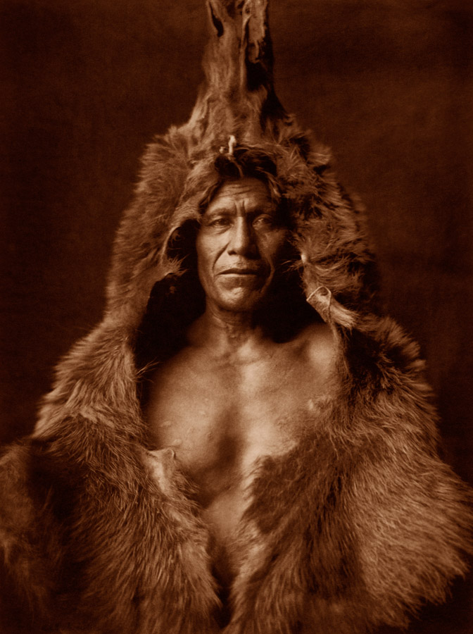 Edward Curtis - Bear's Belly - Arikara, 1908