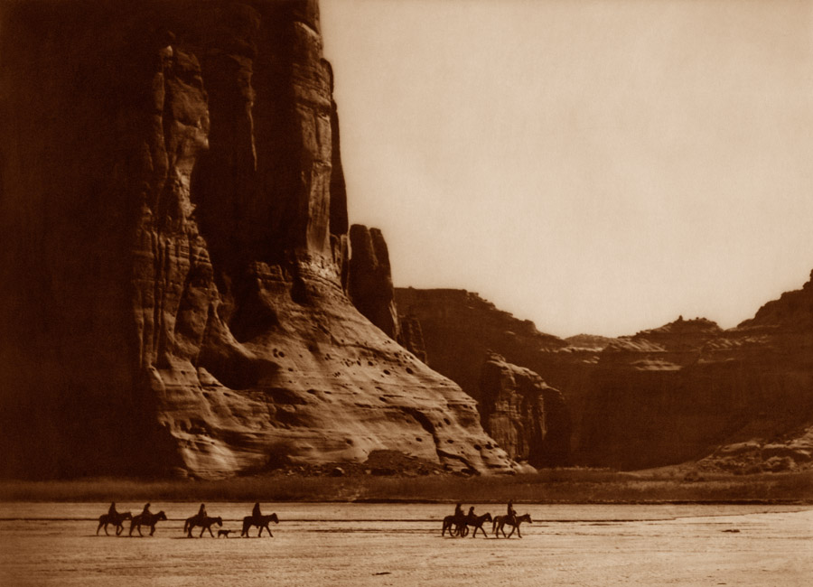 Edward Curtis - Canyon de Chelly - Navaho, 1904