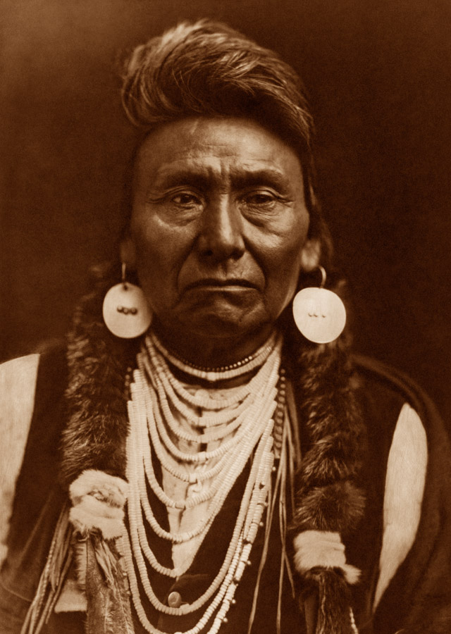 Edward Curtis - Chief Joseph - Nez Perce, 1903