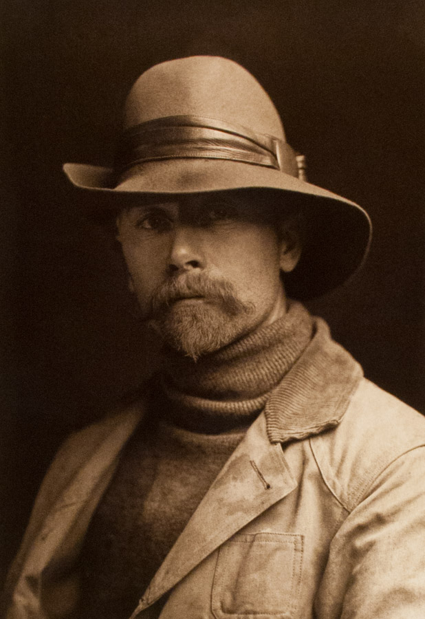 Edward S. Curtis Autoportrait, 1899