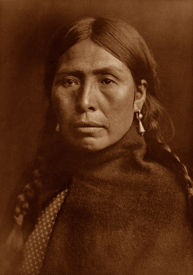 Edward Curtis - Lummi Type, 1899