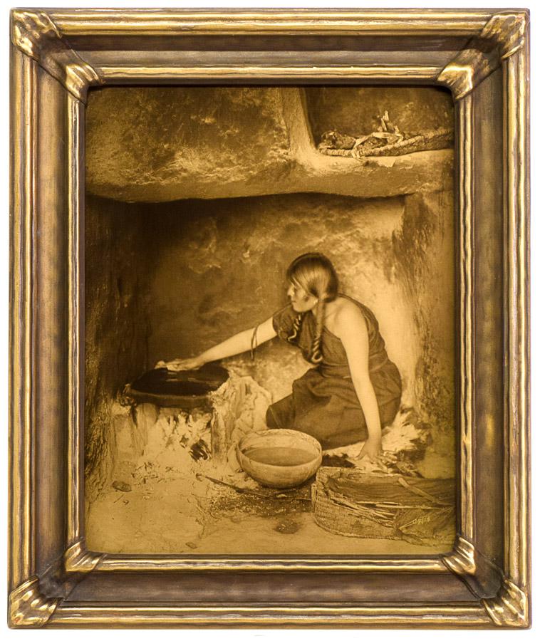 Edward Curtis - The Piki Maker, 1906