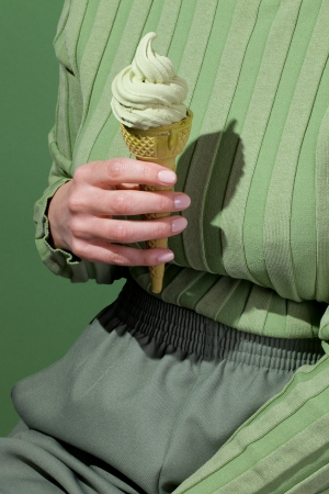 Wardrobe Snacks - Matcha Soft Serve Kelsey McClellan Michelle Maguire-01