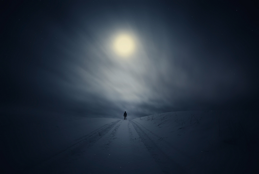 Photo - Mika Suutari, When dreams carry me past this life,