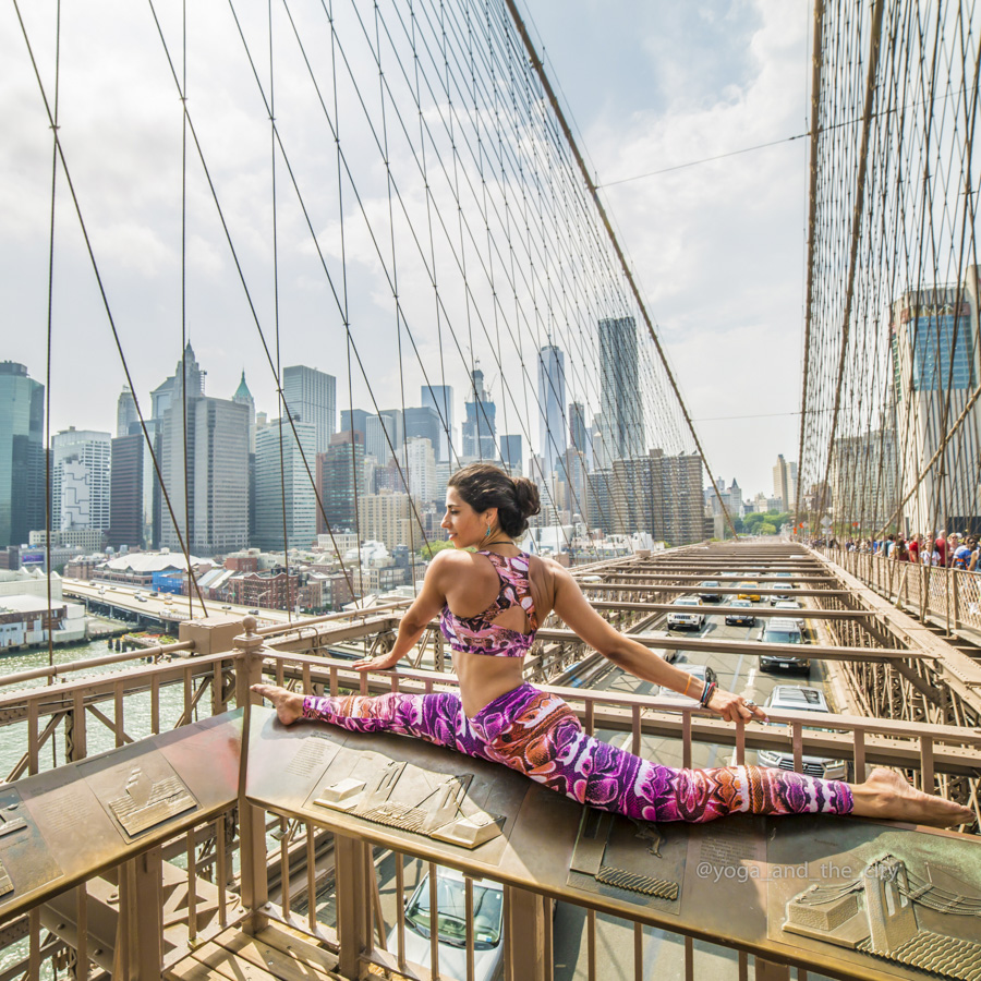 Alexey Wind - Yoga & the city, NYC, New-York
