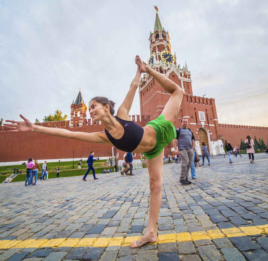 Alexey Wind - Yoga and the city, Moscou, Russie grainedephotographe