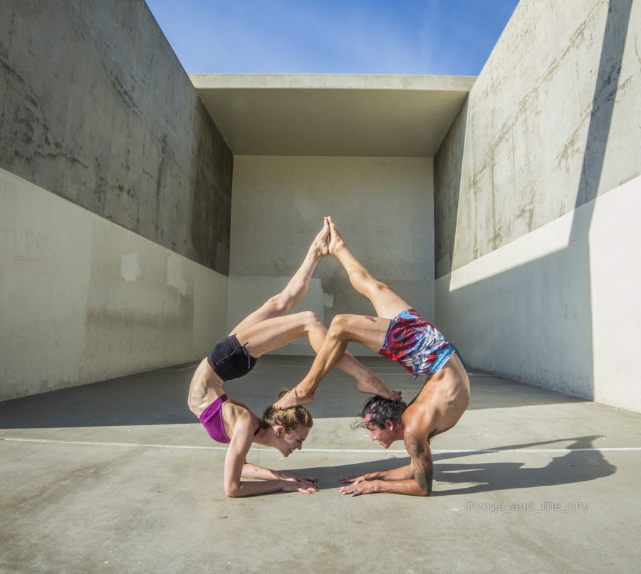 Alexey Wind - Yoga and the city, Los Angeles, Californie grainedephotographe