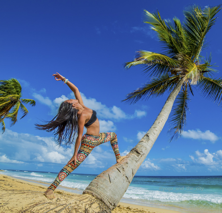 Alexey Wind - Yoga and the city, Punta Cana, République Dominicaine grainedephotographe