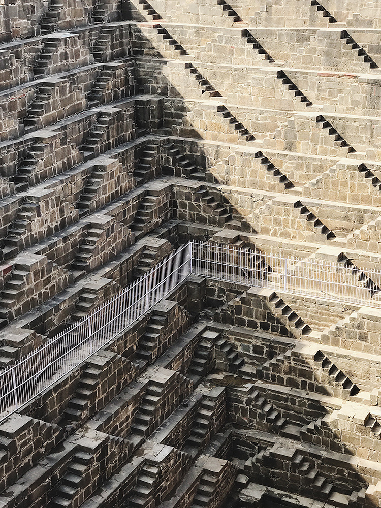 Paddy Chao Taipei, Taiwan 1st Place – Architecture Chand Baori iPhone 7 plus