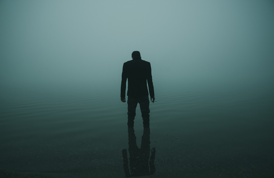 Photo - Alessio Albi Silhouette du lac