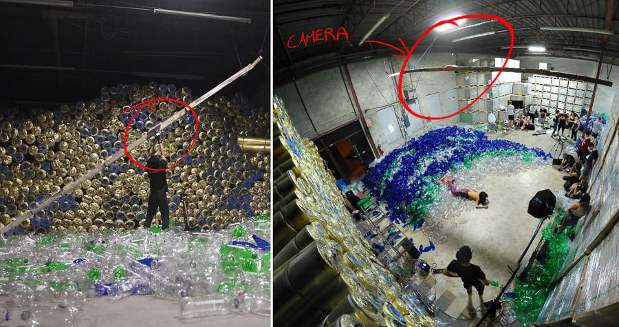 Benjamin Von Wong - Mermaids hate plastic - Backstage - Making of-4