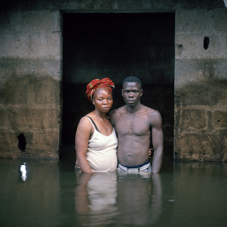 Victor and Hope America Igbogene Bayelsa State Nigeria November 2012 DROWNING WORLD-Submerged-Portraits