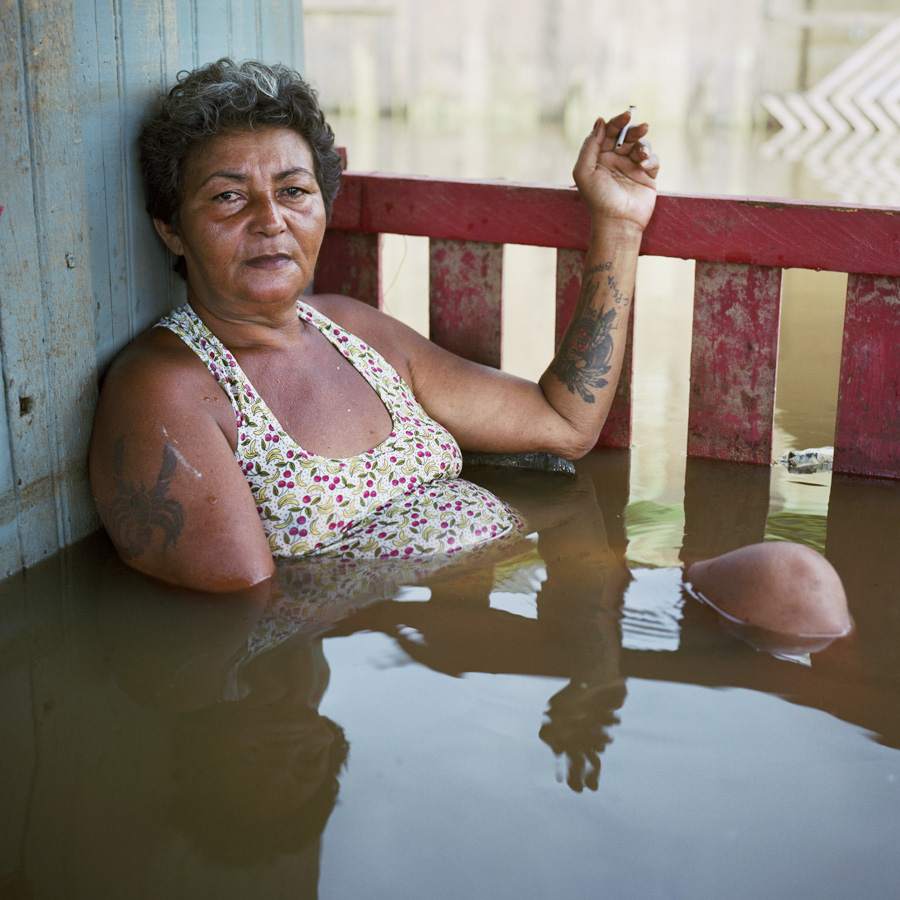 Francisca Chagas dos Santos Taquari District Rio Branco Brazil March 2015 DROWNING WORLD-Submerged-Portraits