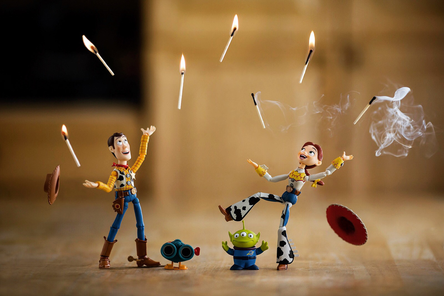 Photo - Mitchel Wu, Playing with Matches (Toy Story)