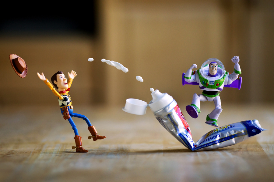 Photo - Mitchel Wu, Woddy & Buzz L'Éclair (Toy Story)