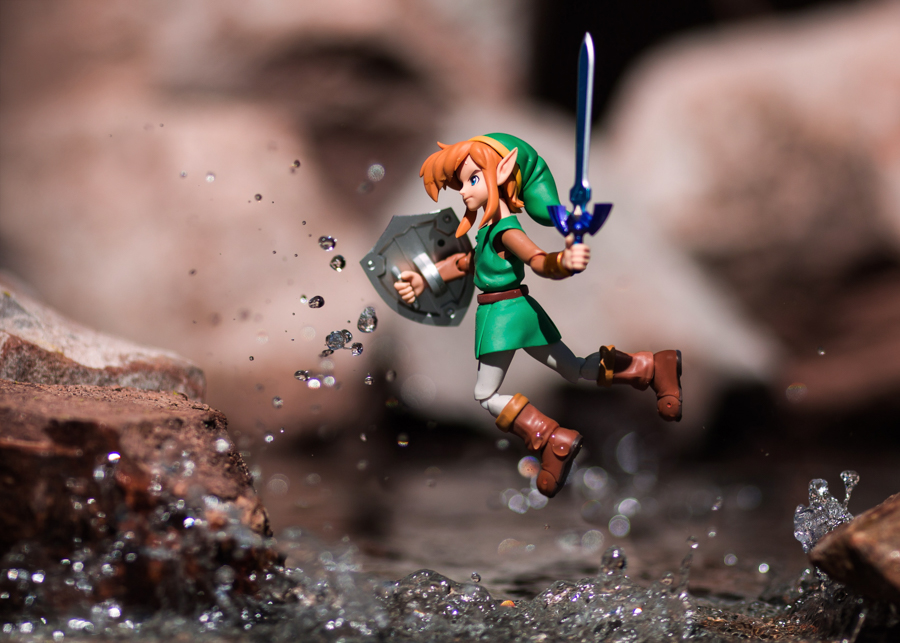 Photo - Mitchel Wu, Link (Zelda)