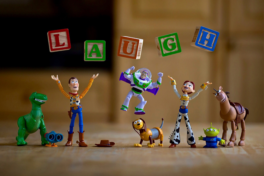 Photo - Mitchel Wu, Laugh, Toy Story