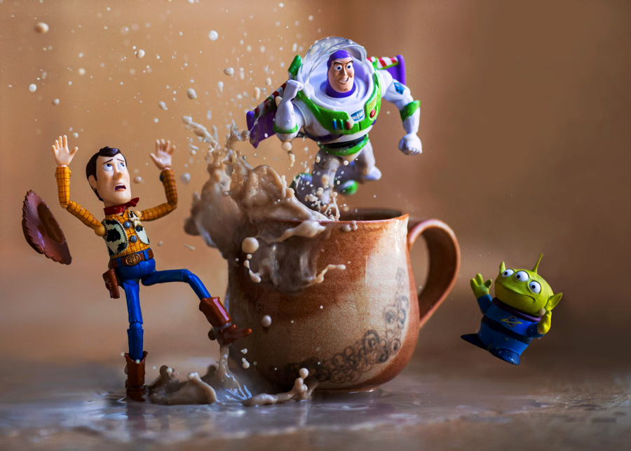 Photo - Mitchel Wu, Toy Story Coffee Splash