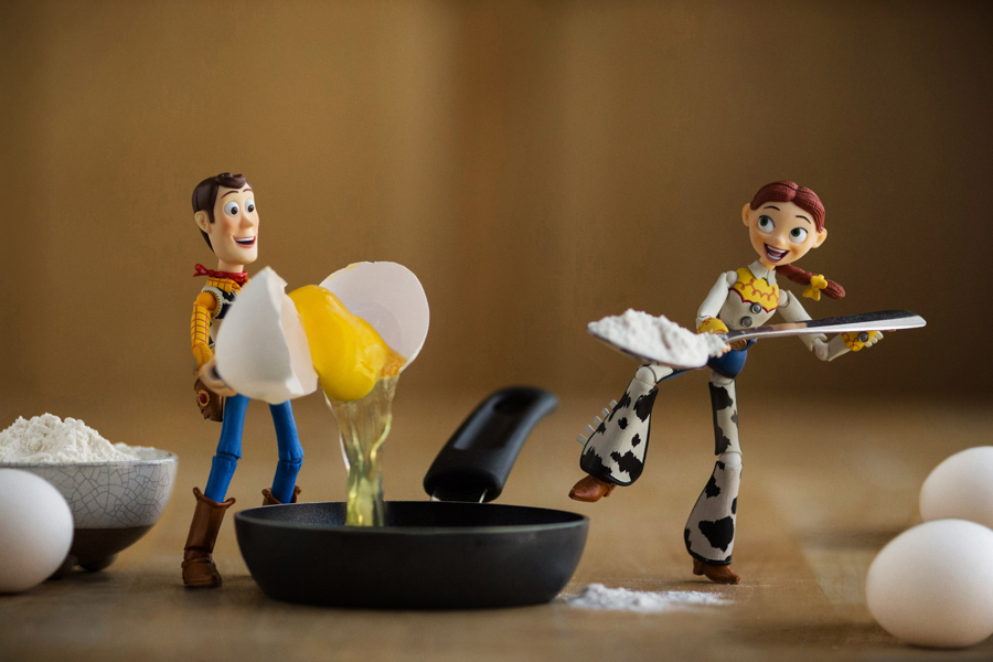 Photo - Mitchel Wu, Toy Story, oeufs