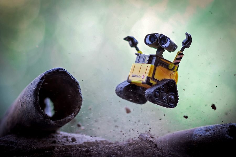 Photo - Mitchel Wu, Wall-e