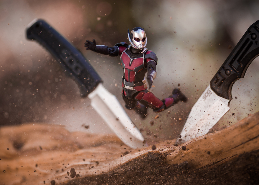 Photo - Mitchel Wu, Ant-Man couteaux