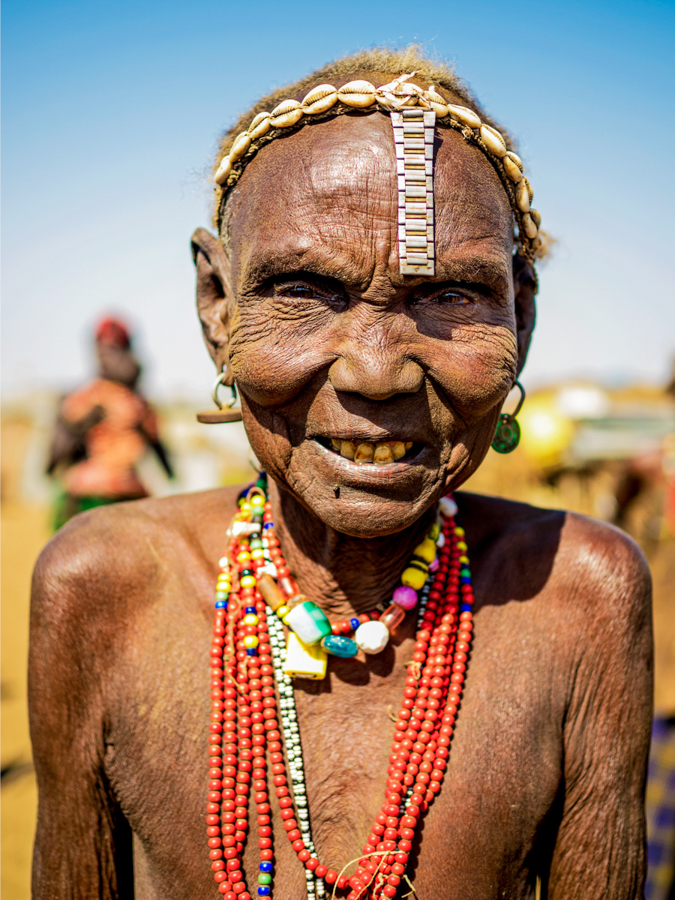 Photo - Omar Reda, The Beauty of Omo Tribal Women