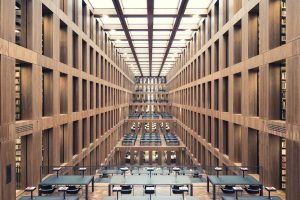 Thibaud Poirier - Libraries - Grimm Zentrum Library Berlin 2009