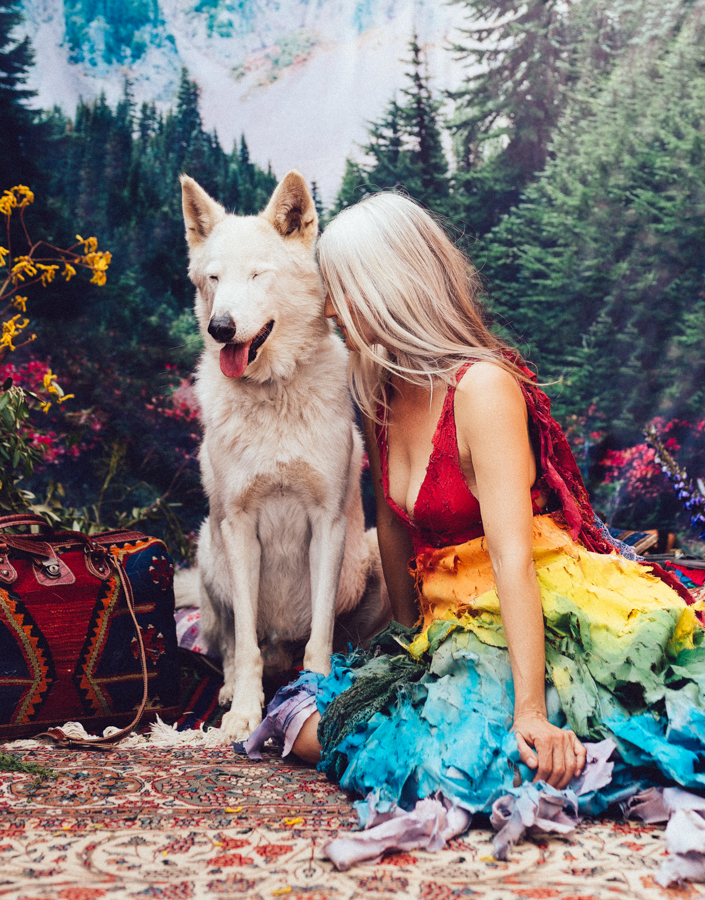 Photo - Deanastacia / Natasha Wilson, Where the Wild Things Are, chien loup