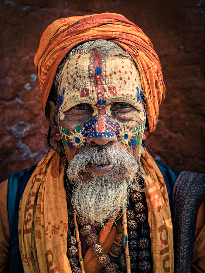 Photo - Omar Reda, The art of the Holy Faces
