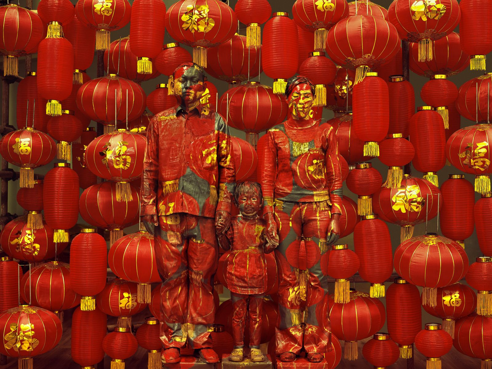 Liu Bolin - Ghost stories