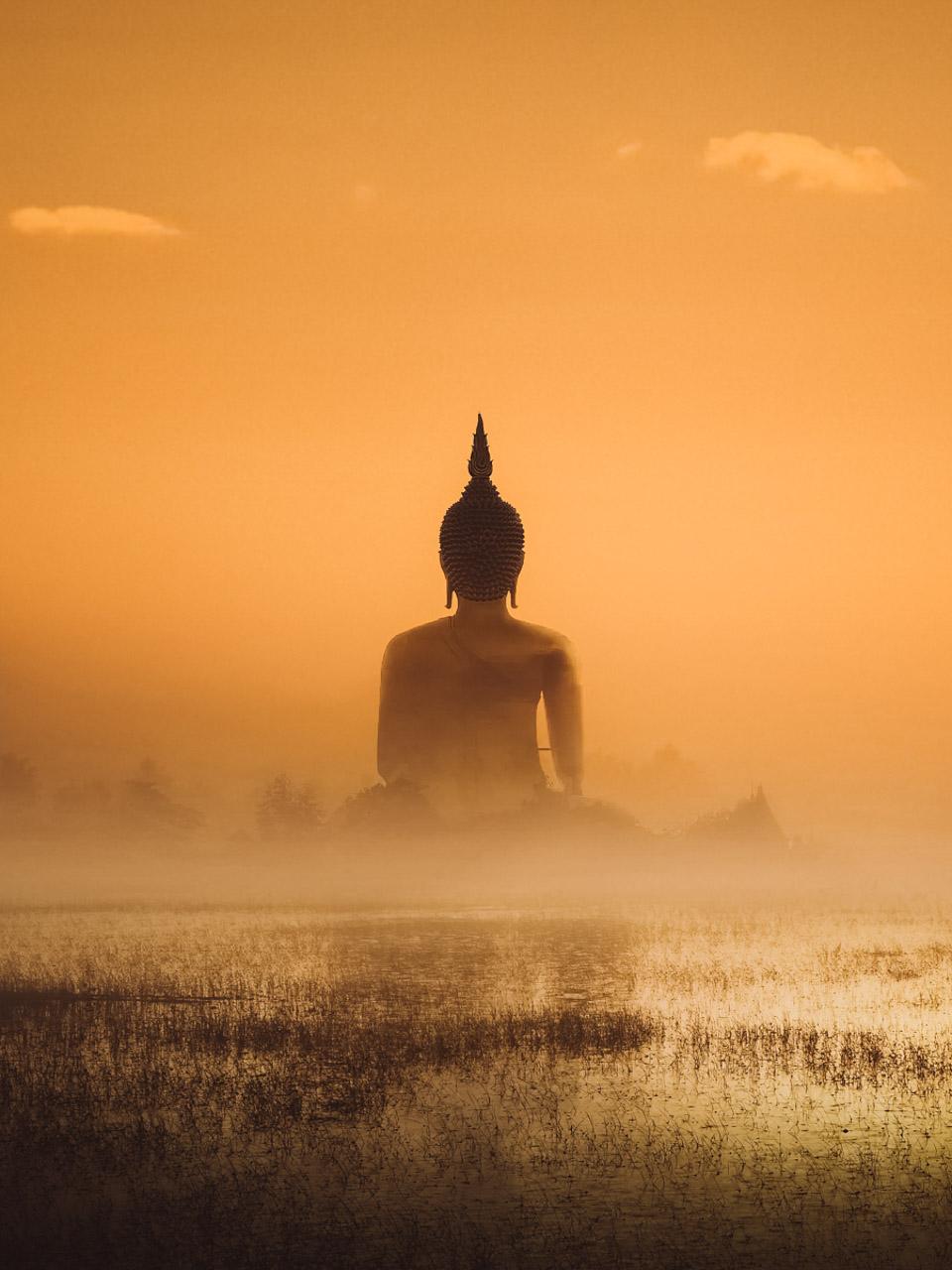 Photo d'un Bouddha en Indonésie, Alexis Rateau