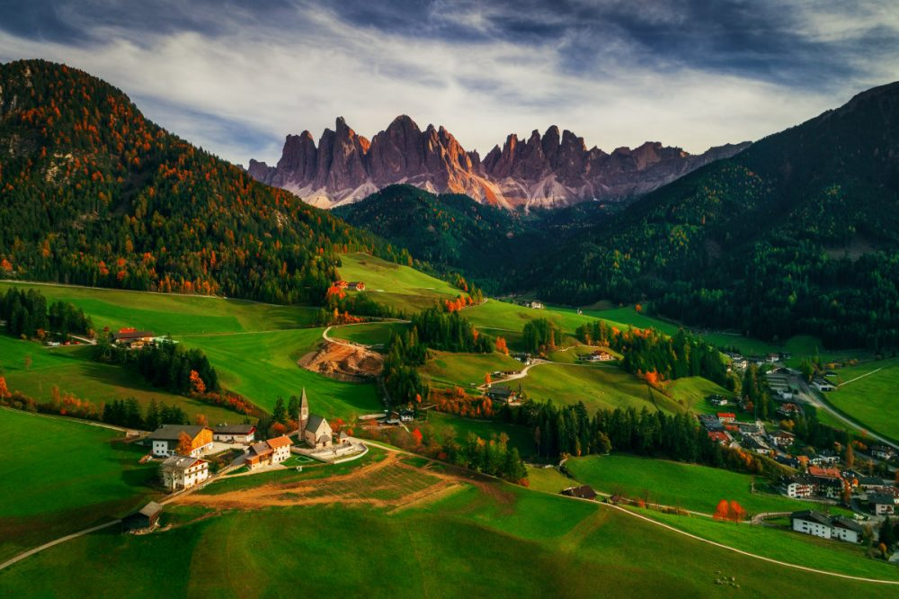 Third Prize - Landscape Professionnel Group - Valentin Valkov - Santa Maddalena village in front of the Geisler or Odle Dolom