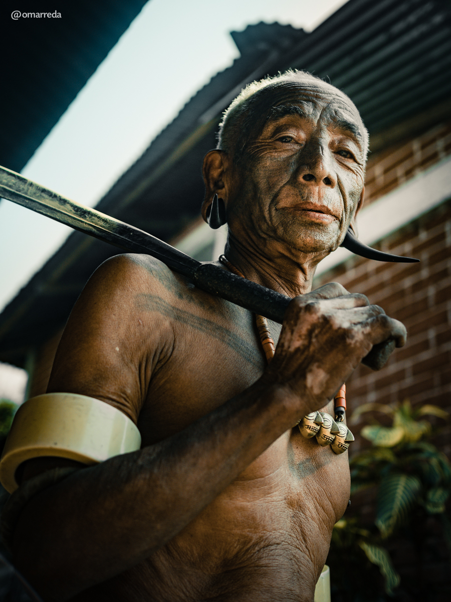 Omar Reda - The Last Headhunters of The Konyak Tribe