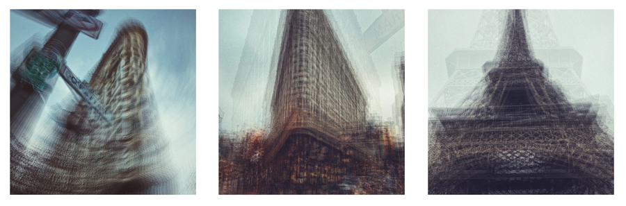 "Cocu Liu United States 1st Place – Series Urban Impressionism ""This series of photos express the sensations of energy and poetic feelings in the urban scene."" Location: San Francisco, Paris Shot on iPhone X"