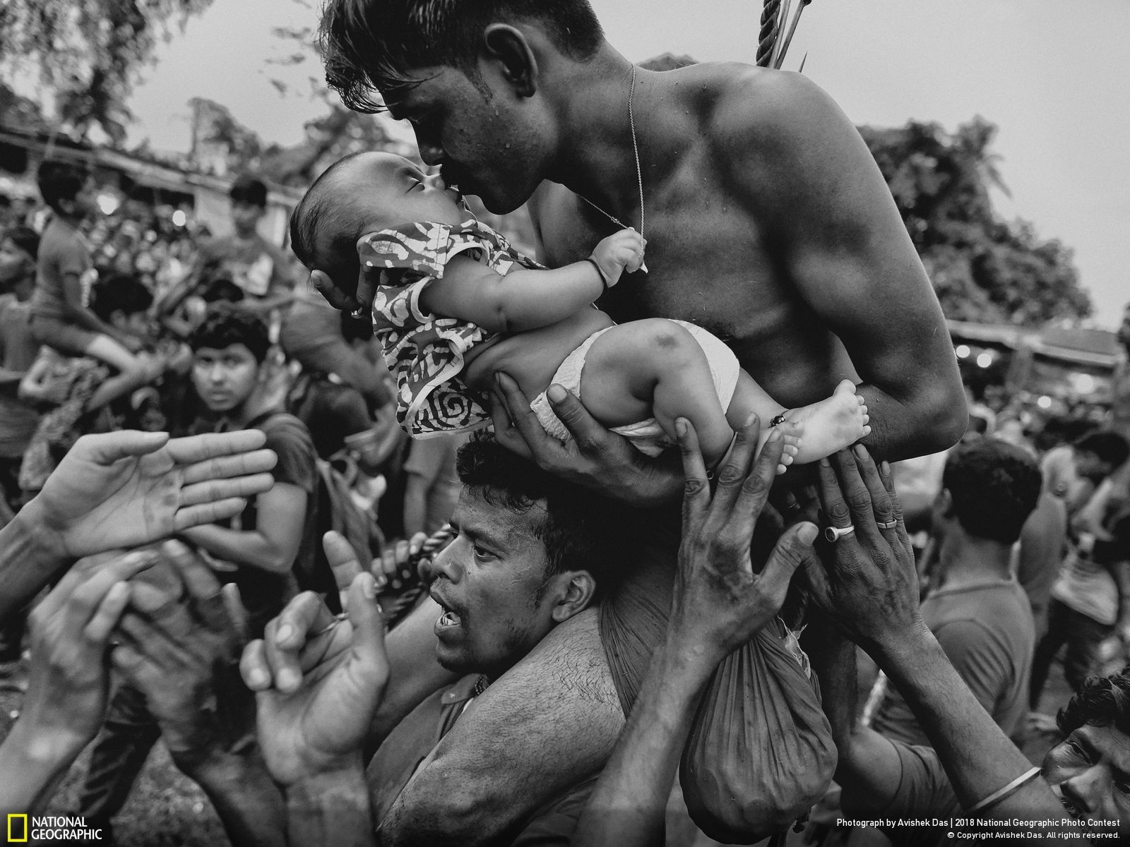 Troisième Prix People National Geographic Photo Contest, Love of Life par Avishek Das