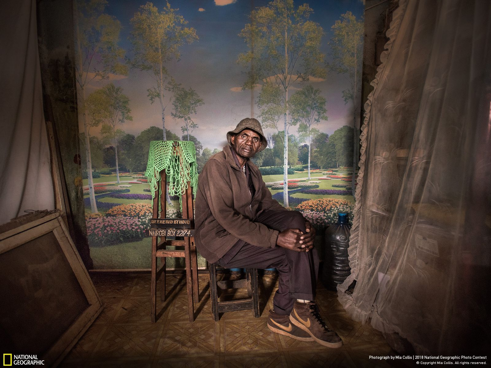 Premier Prix People National Geographic Photo Contest, Sunday Best at Weekend Studio par Mia Collis