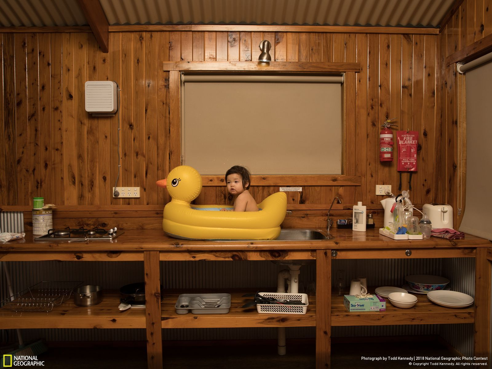 Second Prix People National Geographic Photo Contest, Roadside Motel Todd Kennedy